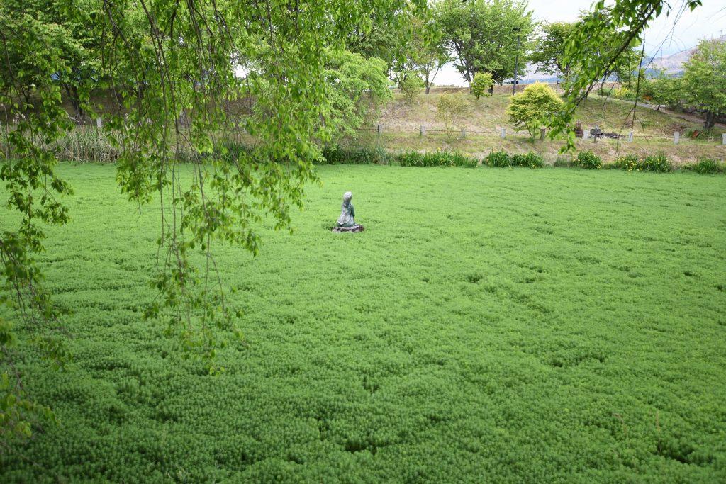明神池のカッパ